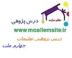 105 – درس پژوهی تعلیمات اجتماعی چهارم ابتدایی ملت ایران