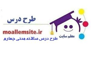 536 – طرح درس سالانه مدنی چهارم ابتدایی